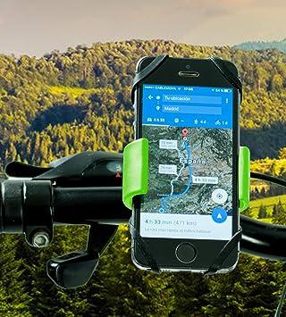 Soporte movil moto Huawei P Smart doble sujecion soporte Huawei P ...