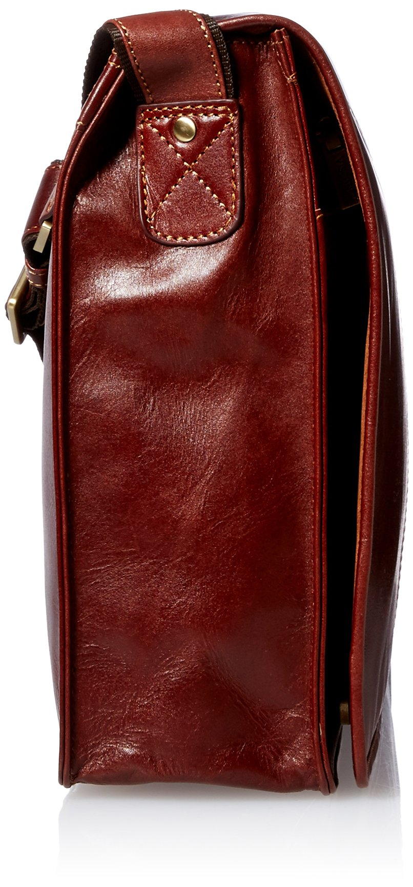 Visconti Vintage-7 Veg Tan Brown Soft Leather Messenger Bag Case, Brown, One Size by Visconti (Image #3)