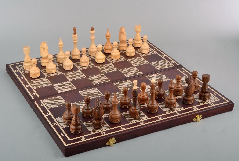 Wooden Handmade Chess Set Gift Ideas Men