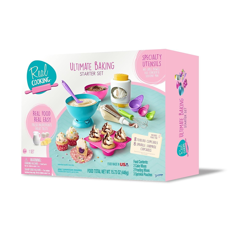 Amazon.com: Real Cooking Ultimate Baking Starter Set - 37 Pc. Kit ...