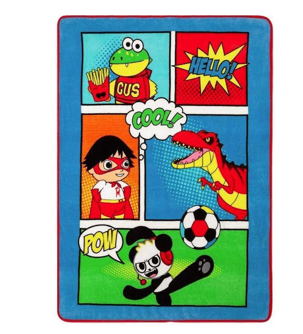 Ryan World Soft Plush Throw Kids Favorite 46'' x 60'' by Ryan