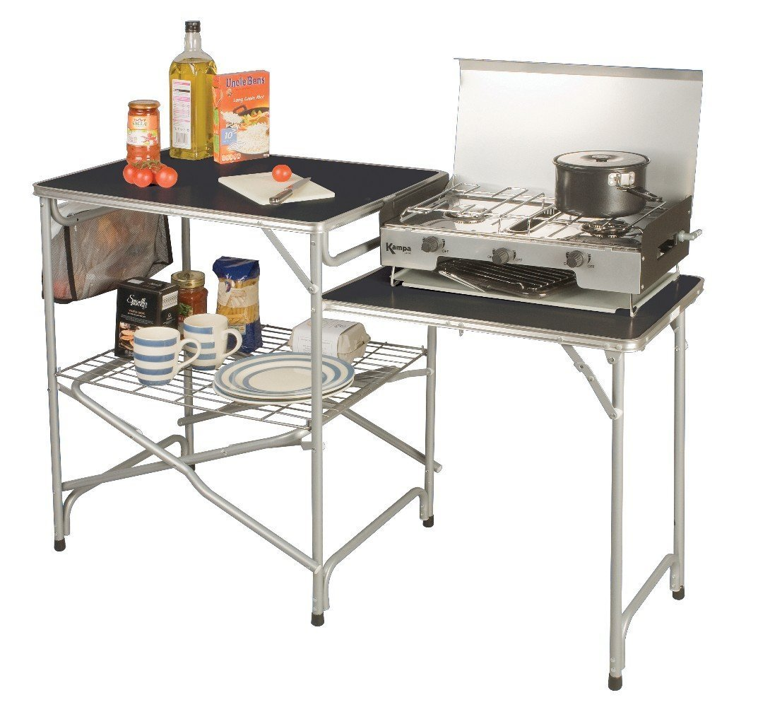 Kampa Colonel Field Kitchen Camping Equipment by Kampa