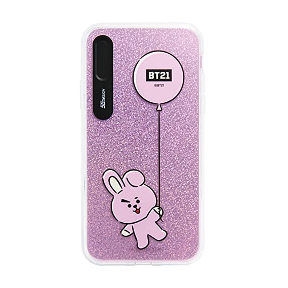 new arrival e6edc 396f6 iPhone Xs Max Case, BTS BT21 Official Light Up Phone Case-Hang Out (Cooky)