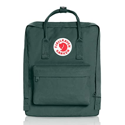 dbe6f9f2496f Amazon.com: Fjallraven - Kanken Classic Backpack for Everyday, Forest  Green: Fjallraven: Sports & Outdoors
