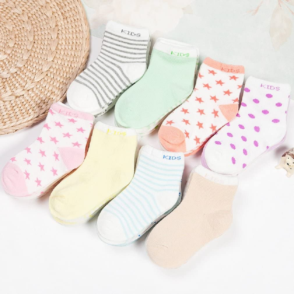5er Pack Baby Cotton Socks set Thicken autumn and winter Infants Toddler Kids Breathable Lovely