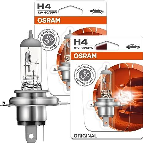 2x Osram Halogenlampe H4 Original Line 12v 60 55w P43t 64193 01b Auto