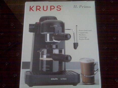 Amazon.com: Krups IL Primo Café Expreso y Capuchino ...