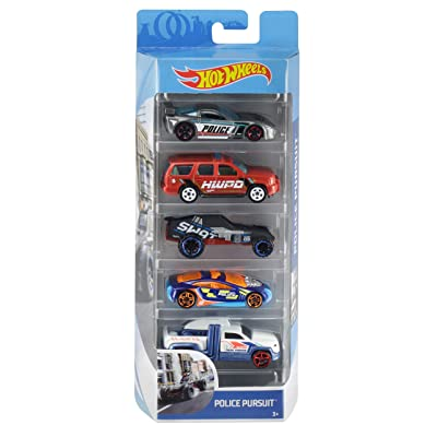 Hot Wheels 5-Pack [Styles May Vary]: Toys & Games