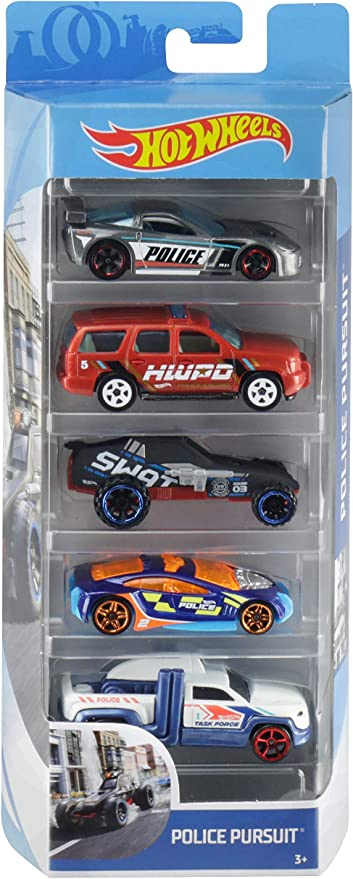 Amazon.com: Hot Wheels 5-Pack, [Styles May Vary]: Toys & Games