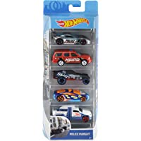 Hot Wheels Pack de 5 vehículos, coches