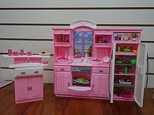 My Fancy Life Dollhouse Furniture - Kitchen Play Set