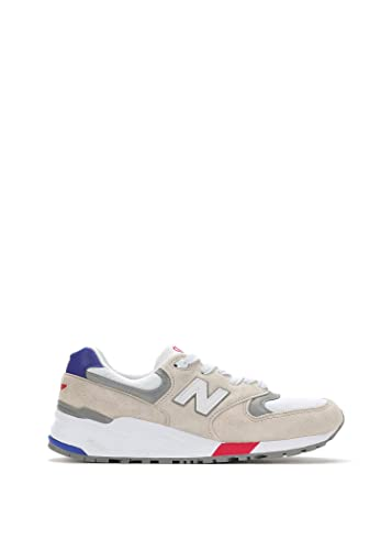 factory price dd63d 43786 Amazon.com | New Balance Men's 999 Asia Suede Sneakers White ...