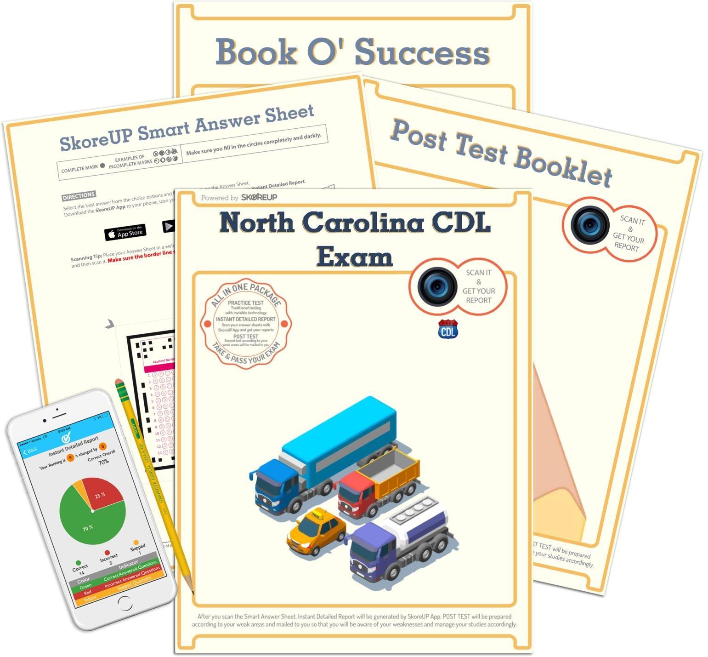 image regarding Dmv Practice Test in Spanish Printable identify Spanish Edition) North Carolina CDL Examination, NC Professional