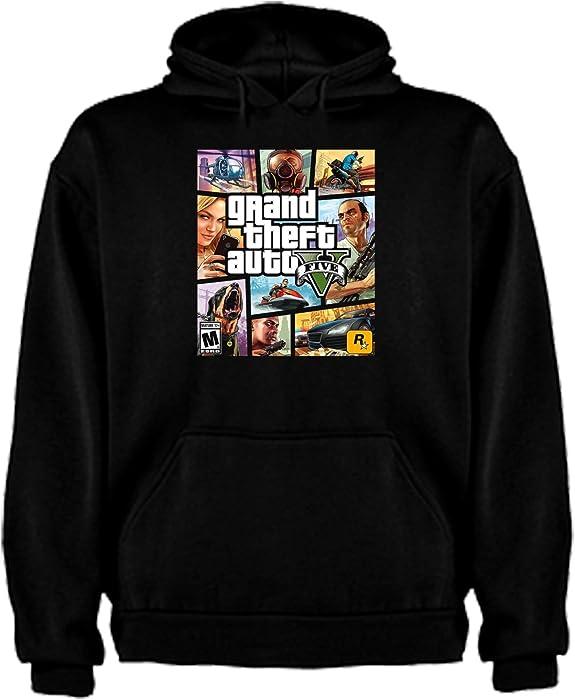 Sudadera de NIÑOS Grand Theft Auto Retro Gamer Friki Juego Consola GTA
