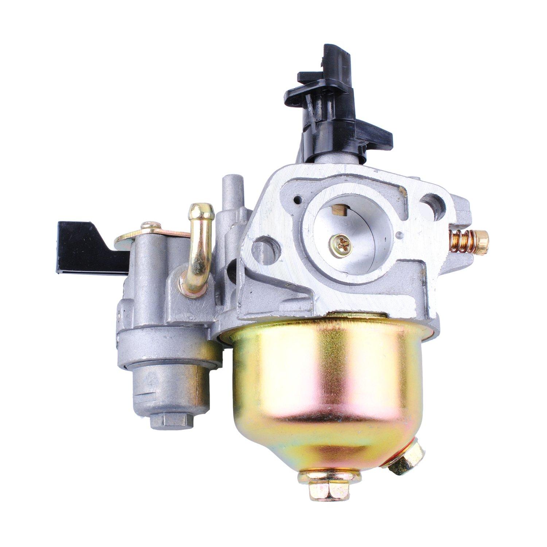 Replace Honda GX160 Carburetor 00079 Poweka GX140 Carburetor for Honda 16100-ZE1-825 16100-ZE1-814 16100-ZH8-W61 16100-ZH7-W51 Honda EG1400 EZ1400XK1 EG2200X EG2500XK1 EZ2500 GX168 GX168F GX200