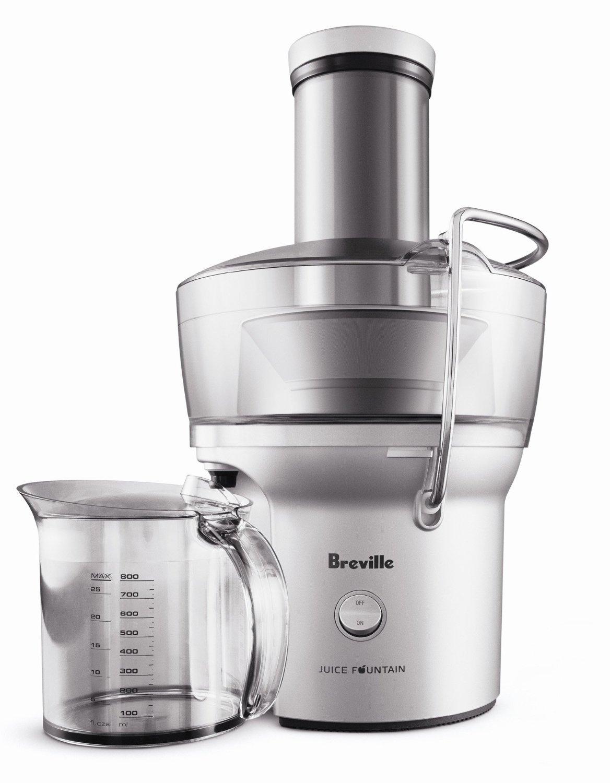 Breville BJE200XL Compact Juice Fountain 700-Watt Juice Extractor Home Juicer