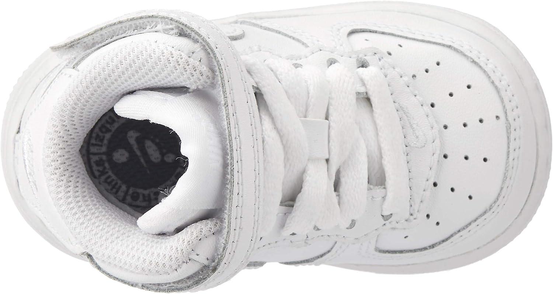 Nike Force 1 Mid TD, Chaussures de Sport Mixte Enfant