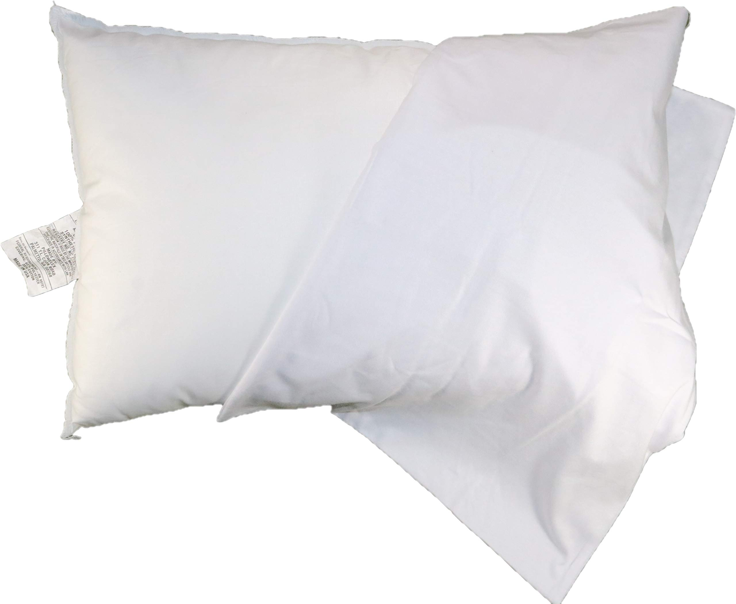 Sophie & Leighanne Toddler Bed Pillow 13'' x 19'' with 100% Cotton Pillowcase by Sophie & Leighanne