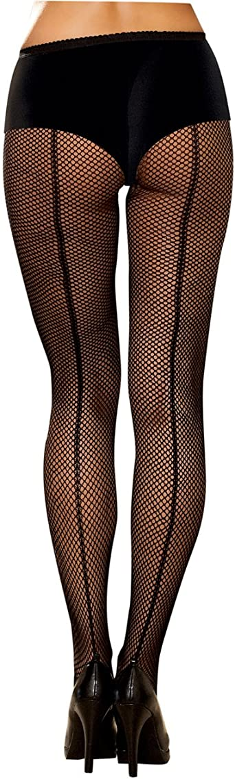 Dreamgirl Womens Fishnet Pantyhose