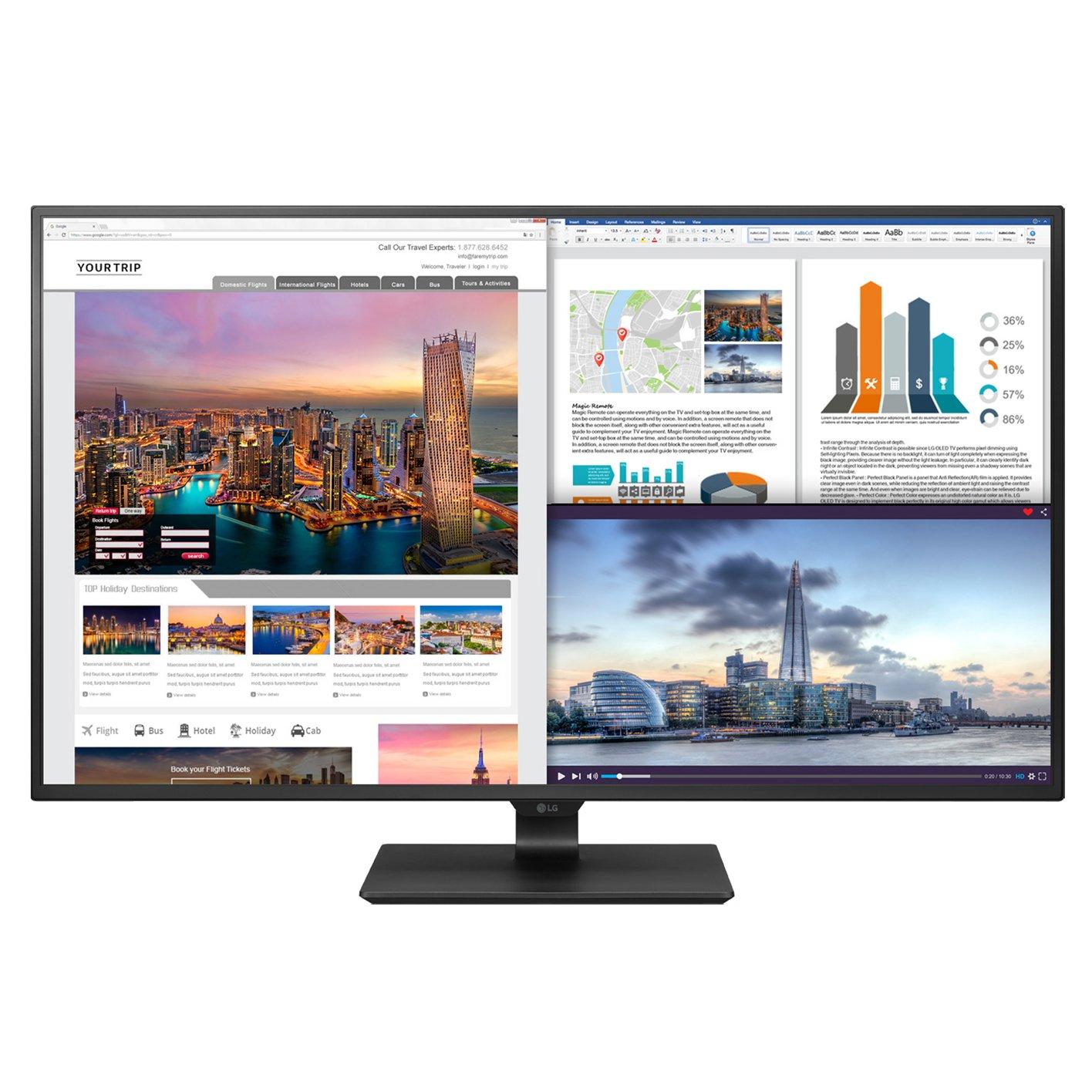 LG Electronics 42.5'' Screen LED-lit Monitor (43UD79-B) by LG