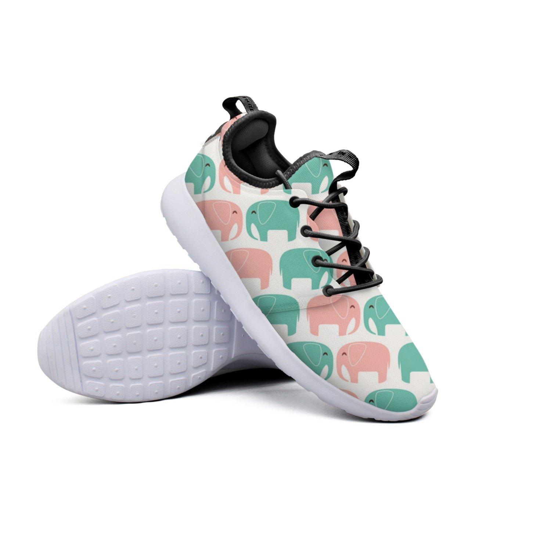 YYuuijk Elephant Cute Animals Cool Men's Running Shoes Casual Cute Comfortable Trendy Hip Hop Retro Retro Vintage Popular Mesh Lightweight Sneaker by YYuuijk