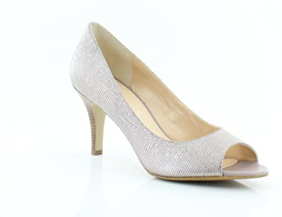Buy Cole Haan Women S Air Lainey Pump Silver Size 10 0 At Amazon In