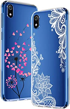 Yoowei [2-Pack] Funda para Xiaomi Redmi 7A, Transparente con ...