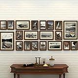Telaio Set di cornice da parete con 20 cornici di alta qualità, grande set di parete della cornice, migliori decorazioni da parete, Decorazioni per la casa