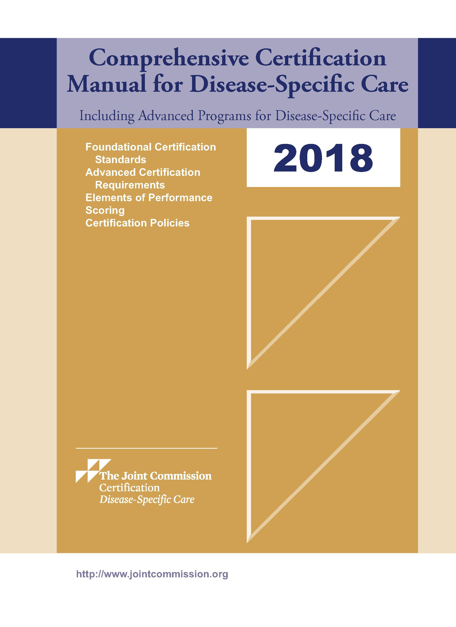 Buy 2018 Comprehensive Certification Manual For Disease Specific