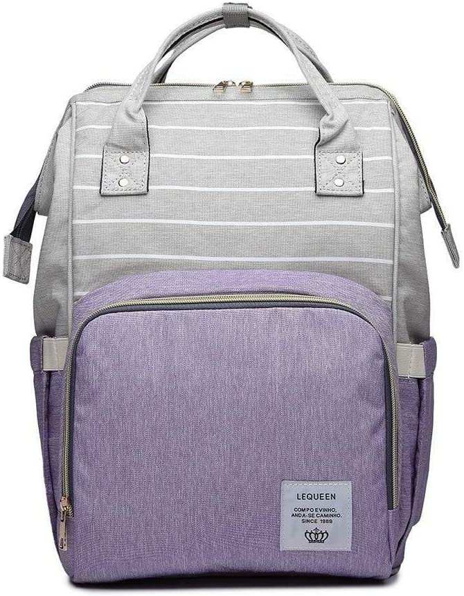 Colourful Nappy Storage Backpack for Moms /& Dads with Shoulder Strap and Handle Rubyz Multi-Pocket Water-Proof Diaper Bags 39x2x50 Inches Multiple Compartments Bottle Holder