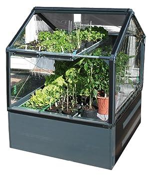 Growcamp Hochbeet Mit Abdeckung Basic 120 Amazon De Garten