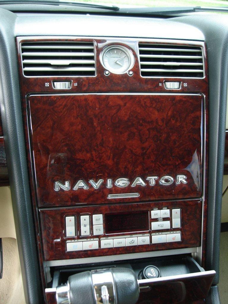 LINCOLN NAVIGATOR INTERIOR BURL WOOD DASH TRIM KIT SET 2003 2004 by Navigator
