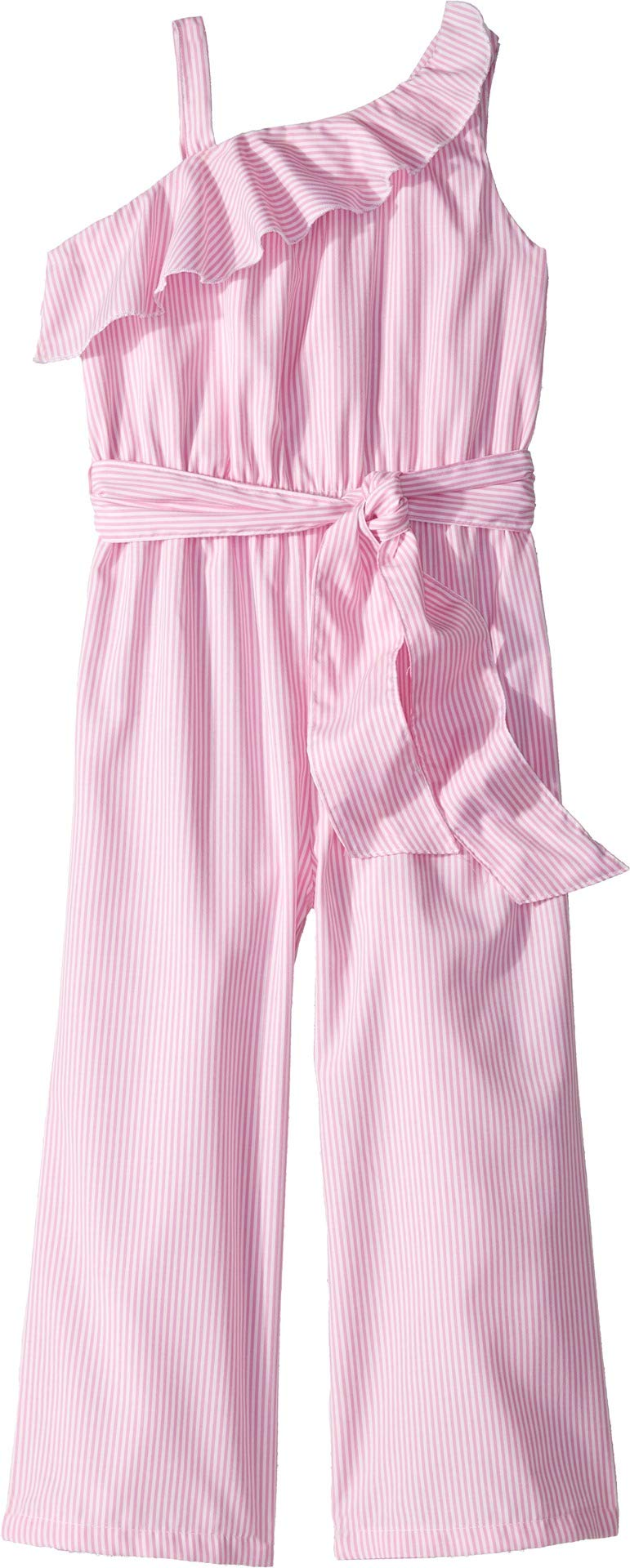 HABITUAL girl Baby Girl's Thalia Jumpsuit with Tie (Toddler/Little Kids) Light Pink 4/5 (Toddler/Little Kids)