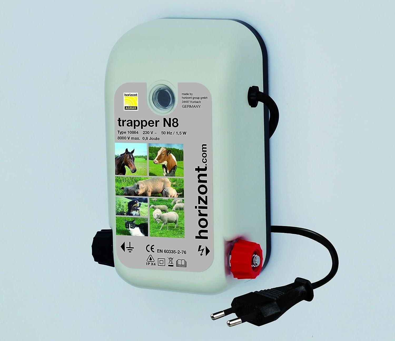 Weidezaun- / Elektrozaungerät trapper N8 Gehäuse UV-geschützt