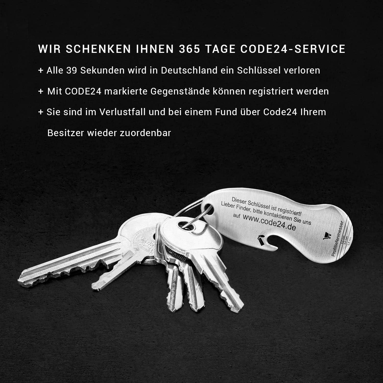 Einkaufswagenlöser Code24 Münze Flaschenöffner Als Schlüsselanhänger Mit Einkaufschip Schlüsselfinder Inkl Registriercode Für Schlüsselfundservice Einkaufswagenchips Key Finder Grün Bekleidung