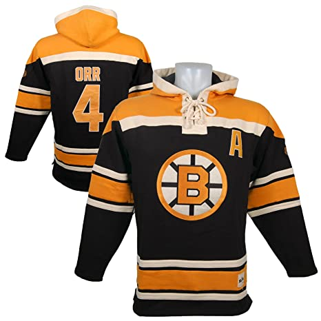 a671df4ed1d Boston Bruins Bobby Orr Heavyweight Jersey Lacer Hoodie - Size XX-Large:  Amazon.ca: Sports & Outdoors