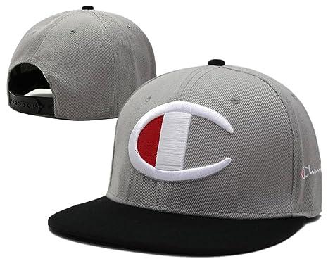 Cappello-Champion Hip Hop regolabile Sport Fan Hyst Unisex eresen cappellino  da Baseball (grigio a88c4f58446c