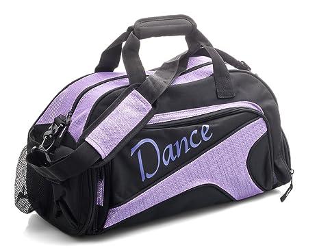 49e02cbaa93 Katz Dancewear Girls Ladies Large Purple Dance Ballet Tap Kit Holdall  Sports Bag KB73  Amazon.co.uk  Sports   Outdoors