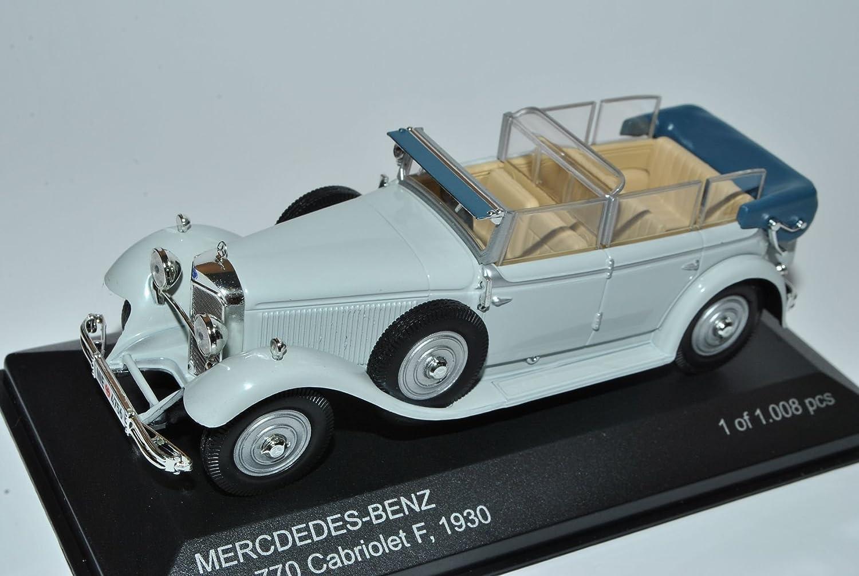 Weißbox Mercedes-Benz Typ 770 Cabriolet F Grau 1930 1 43 Modell Auto B00KY959OE Miniaturmodelle Geeignet für Farbe  | Preisreduktion