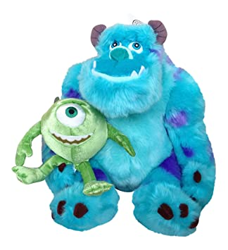 80a24b88151 Disney Park Sulley and Mike From Monsters Inc Plush Doll  Amazon.co.uk  Toys    Games