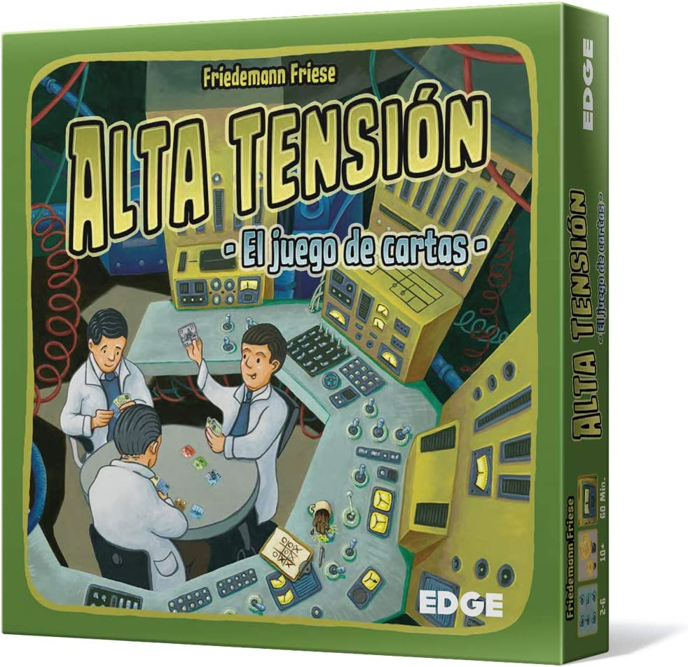 Edge Entertainment- Alta tensión: El Juego de Cartas, Color (EDGFU30): Amazon.es: Juguetes y juegos
