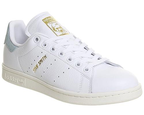 adidas Stan Smith W, Zapatillas de Deporte para Mujer, Blanco Ftwbla/Vertac, 36 EU: Amazon.es: Zapatos y complementos
