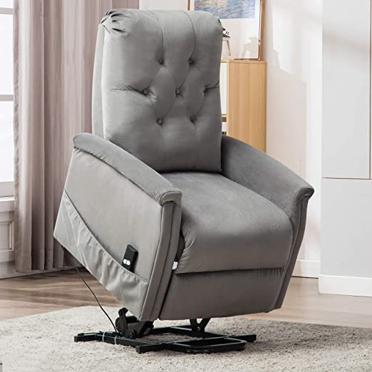 Amazon.com: ANJ silla reclinable para ancianos, silla de ...