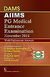 AIIMS PG Medical Entrance Examination November 2014