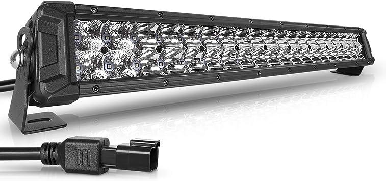 "Dual Row 20/""Inch LED Light Bar Spot Flood Work Lamp 22/"" For Kubota Lawn Mower"