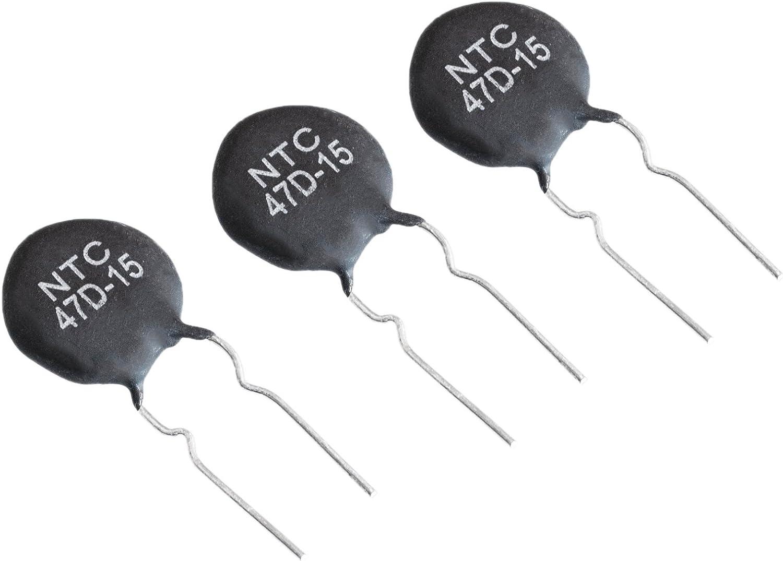 HUIMAI 100PCS NTC Thermistor Resistor NTC 47D-15 47D15 Thermal Resistor Best Price