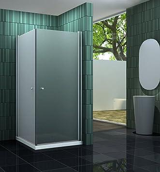 Mampara de ducha sin BANHO-F 80 x 80 cm: Amazon.es: Bricolaje y herramientas