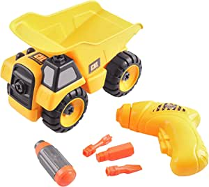 Amazon.com: CoolToys Take-A-Part Toddler Toy Dump Truck ...