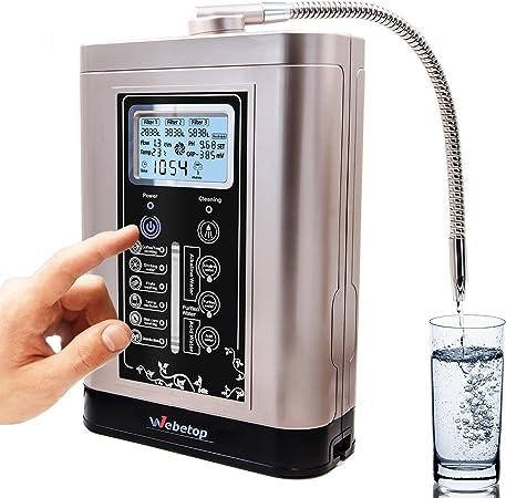 Webetop agua ionizador y purificador de agua Máquina PH 3,5 – 11 ...