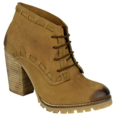 Womens Out The Door Lace-Up Bootie